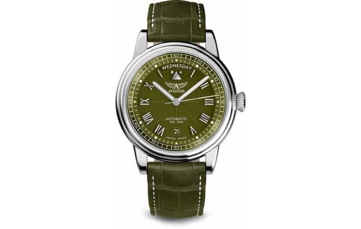 Zegarek męski Aviator Douglas Day-Date V.3.35.0.278.4