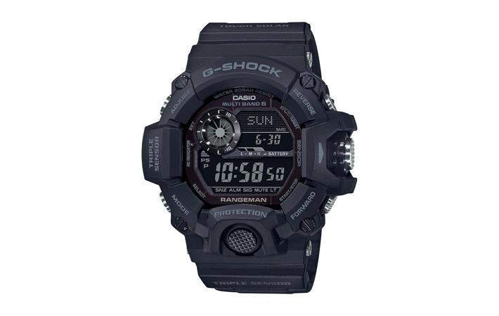 Zegarek męski Casio G-Shock Professional Rangeman GW-9400-1BER