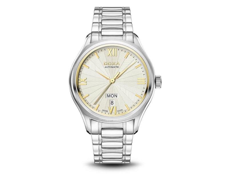 Zegarek męski Doxa Executive D218SCM