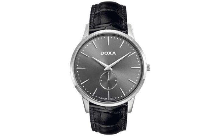 Zegarek męski Doxa Slim Line 105.10.101.01