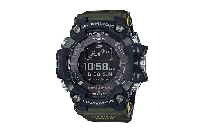 Zegarek męski Casio G-Shock Rangeman GPR-B1000-1BER