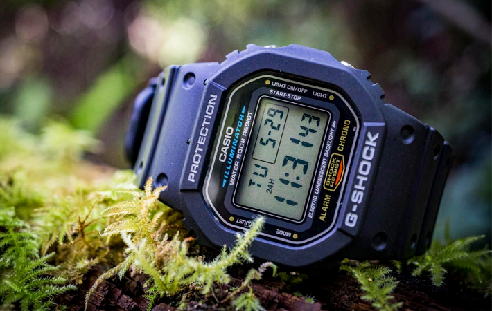Casio G-Shock Standard Digital DW-5600E-1VZ
