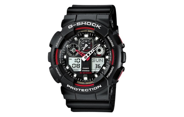 Zegarek męski Casio G-Shock Standard Analog-Digital GA-100-1A4ER