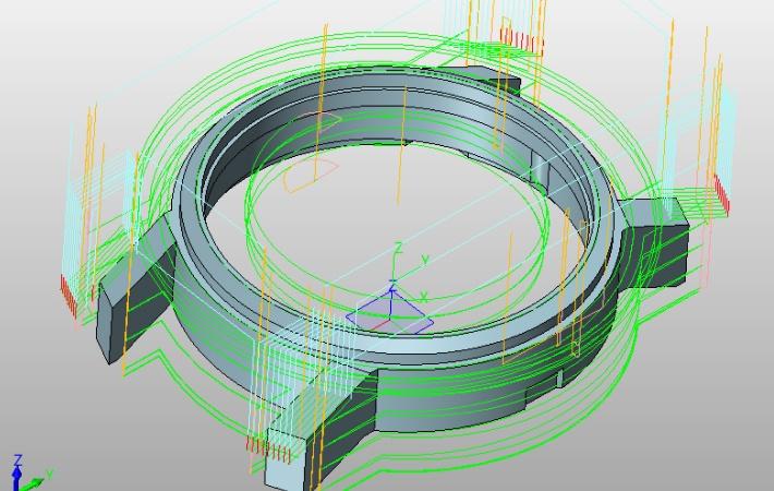 projektowanie zegarka w programie komputerowym