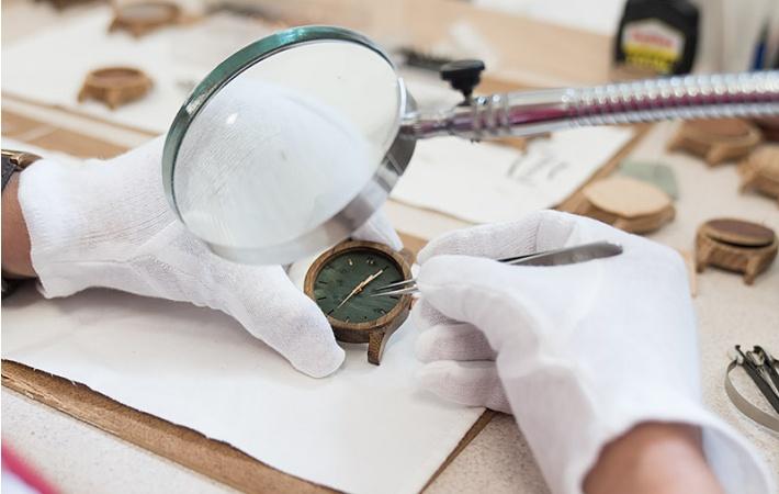 Składanie zegarka