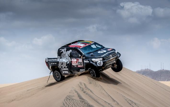 Wydmy Rajd Dakar