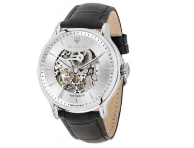 Automatyczne zegarki Maserati - modele, które odsłaniają