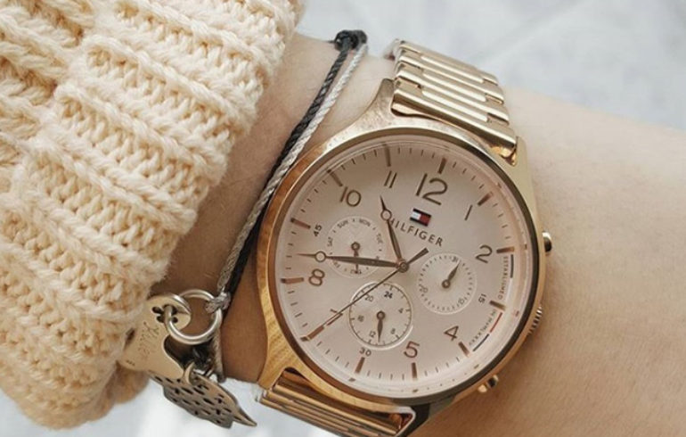 246fdc6d4a4aa Zegarek damski Tommy Hilfiger Emmy 1781873 - zegarki z Instagrama