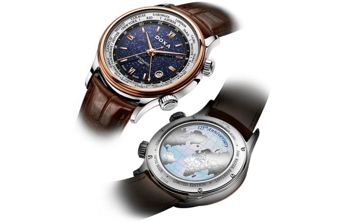 GrandeMetre Blue Planet® GMT 125th Anniversary Edition