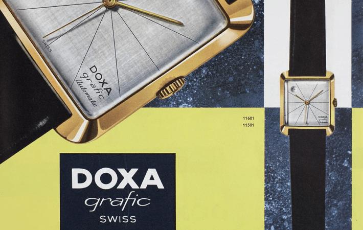zegarek Doxa grafic