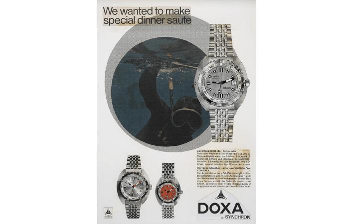 zegarek Doxa dla nurków