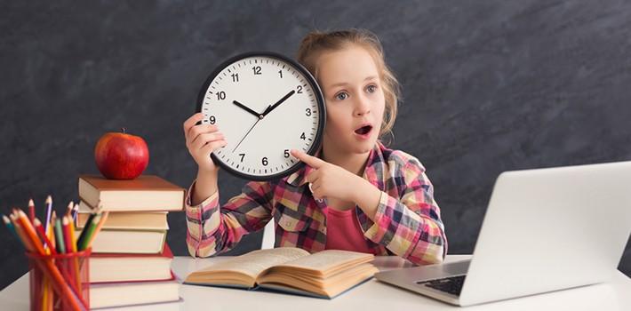 Nauka zegara analogowego