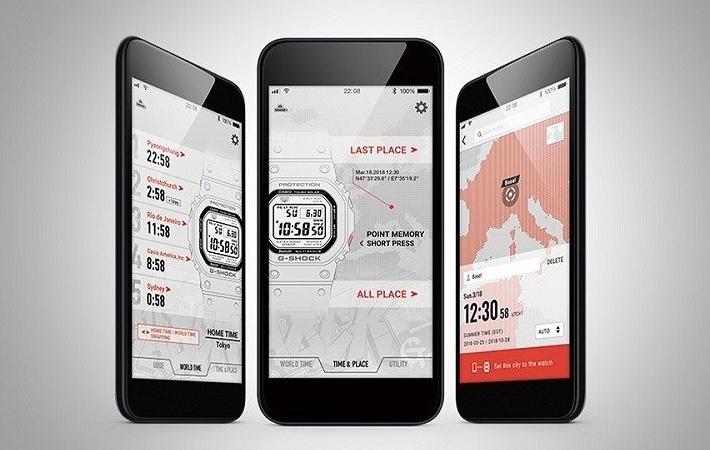 Aplikacja Casio G-Shock